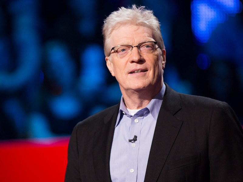 """Ken Robinson diyor ki; """"Okullar yaratıcılığı öldürüyor."""""""